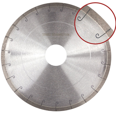 Floor tile cutting saw blade