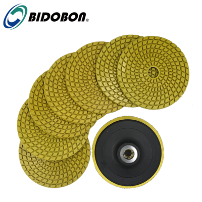 Diamond Wet Polishing Pad For Granite
